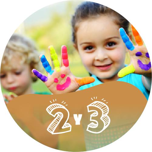 Ministerio de Niños | 2 - 3 Años