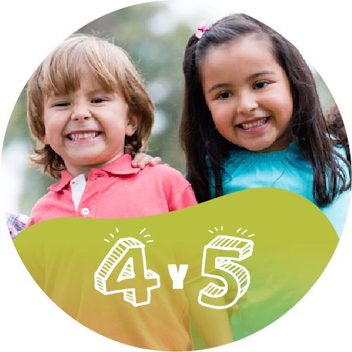 Ministerio de Niños | 4 - 5 Años