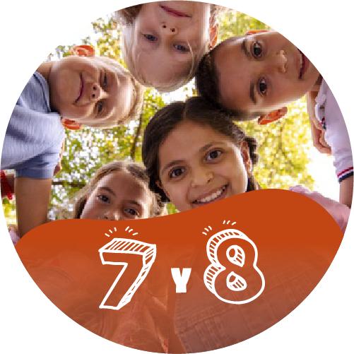 Ministerio de Niños | 7 - 8 Años
