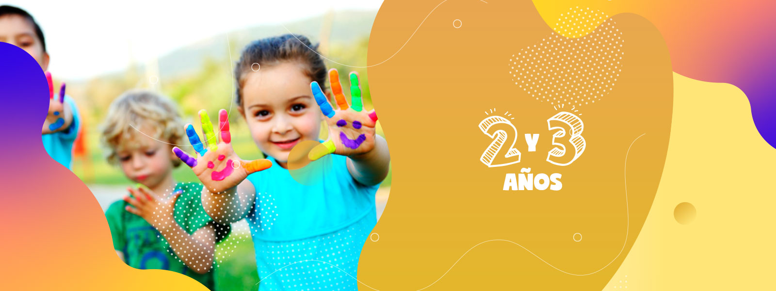 Clases | 2 - 3 Años | Ministerio de Niños