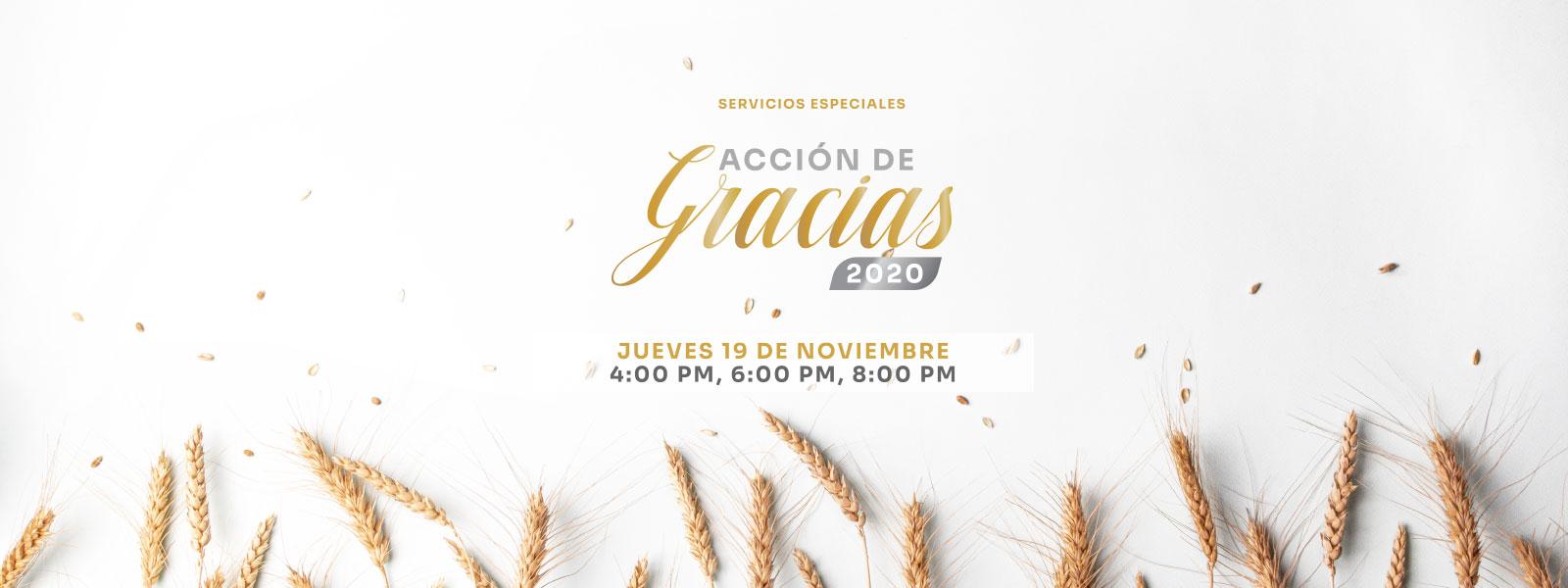 Iglesia Gracia Sobre Gracia | Acción de Gracias