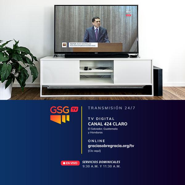 GSG TV | Iglesia Gracia Sobre Gracia | TV Transmisión